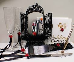halloween themed cake toppers nightmare before christmas wedding cake topper lot disney glasses