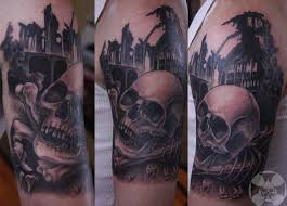 three amazing skull tattoo tattoomagz