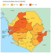 Map Of Sierra Leone The Impact Of The West Africa Ebola Outbreak On Obstetric Health