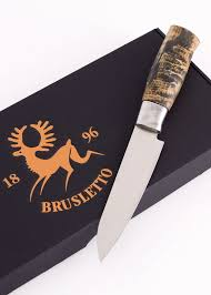 kitchen knife hunter premium chef mini brusletto klingenreich
