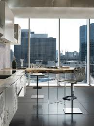Kitchen Peninsula Design by Design White And Black Monochromatic Kitchen With A Peninsula