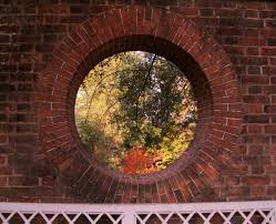 brick round window google search resort idea pinterest