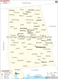Utah Cities Map by Cities In Alabama Map Alabama Cities