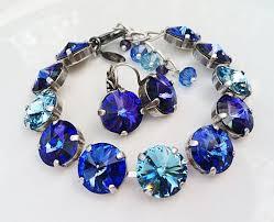 sapphire crystal bracelet images 177 best swarovski crystal jewellery images jpg