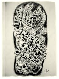 tattoos designs half sleeves images for tatouage