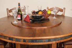 dining room table with lazy susan marceladick com