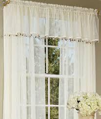Battenburg Lace Kitchen Curtains by Lace Swag Curtains Fiona Scottish Lace Balloon Shade Valance