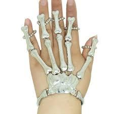 skull hand bracelet images Pixnor stylish skeleton skull hand talon finger bone slave jpg
