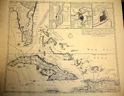 Old Treasure Map Treasure Maps Treasure Maps Of Florida And The West Indies