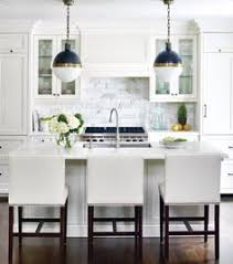 Hanging Lights For Kitchen by In Love With This Island Some Storage But Space For Stools