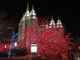 christmas lights on temple square youtube
