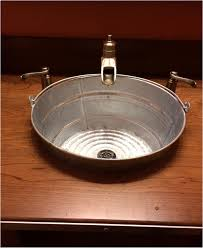 Kitchen Sink P Trap Size by Bathrooms Design Rustic Bathroom Sink Galvanized Tin Archives