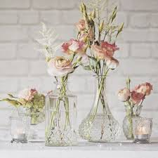 Vase Table Centerpiece Ideas Best 25 Glass Centerpieces Ideas On Pinterest Wedding Flower
