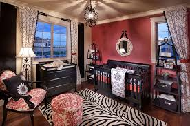 Cute Zebra Print Room Home Design By John - Animal print decorations for living room