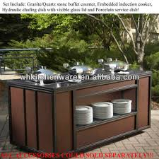 Buy Buffet Table Induction Cooker Porcelain Pan Chafer Wooden Buffet Table Buy