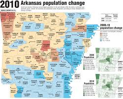 us map of arkansas census charts and maps