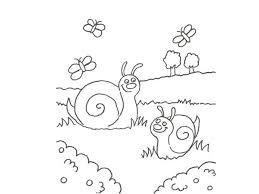 imagenes de mariposas faciles para dibujar de caracoles y mariposas para pintar con niños