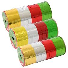 curling ribbon bulk christmas house curling ribbon 80 ft rolls at dollartree