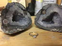 geode engagement ring box i made my so a geode engagement ring box album on imgur