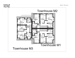 Town Houses Floor Plans Village Townhouses Washington And Lee University