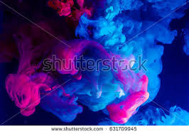 colorful colors motion color drop waterink swirling watercolorful stock photo