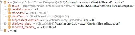 android os networkonmainthreadexception android datagram socket asks for destination address stack