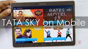 tata sky apk tata sky on your mobiles tablets