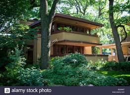 mrs thomas gale house by frank lloyd wright prairie style oak park