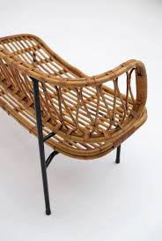 Rattan Settee City Furniture Rattan Settee From Dirk Van Sliedregt 1956