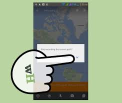 Build Your Own Android App 14 Mapping Your Way To Google Maps by 3 Ways To Use Google Maps To Track Your Run Wikihow