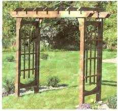 wedding arches plans wedding arbor blooming oasis