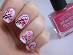 nail designs cherry blossom nail arts