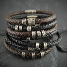 gift for men mens personalized bracelet for men mens gift mens