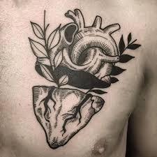 45 beautiful anatomical heart tattoo designs the art of biological