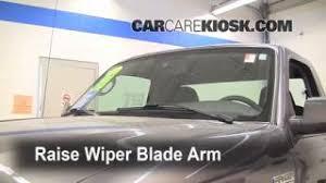 ford ranger wiper blades light change 2006 2011 ford ranger 2008 ford ranger xl 2 3l