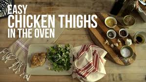 kitchn roast chicken easy chicken thighs in the oven youtube