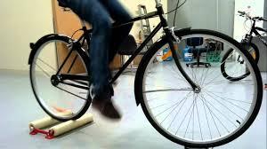 Indoor Bike Indoor Bike Roller Trainer Demo Set Patented Easy Ride Youtube
