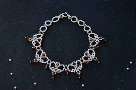 necklace elegant images Tutorial on making an elegant pearl necklace for wedding 9 steps jpg