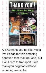 Food St Memes - thank you best west pet food st james chiat mlifllral 00 x 0 x