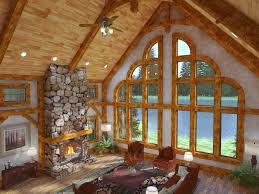 home interiors picture frames golden eagle log homes exposed beam timber frame construction