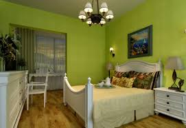 Emerald Green Home Decor by Bedroom With Green Walls