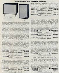 klh home theater system vintage klh model 2 and model 6 ads 1959 vintage hifi