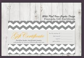 free gift certificate templates business plan template