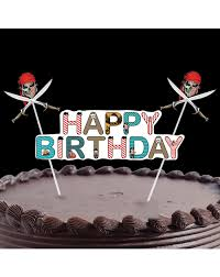Pirate Cake Decorations Partypropz Buy Online Pirate 1st Birthday Party Supplies Themed