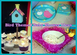 themed baby shower party ideas for a bird themed baby shower holidappy