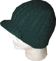 new unisex ecko unlimited cable knit winter beanie cap hat w visor