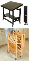 Folding Kitchen Island Cart Best 25 Folding Kitchen Table Ideas Only On Pinterest Space