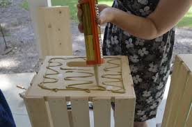 Building Wood Bookcase by