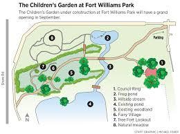 fort pond native plants children u0027s garden takes shape at fort williams portland press herald