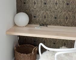 how to build a floating desk how to build a simple floating desktop shelves manhattan nest